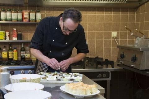 Restaurant De Wapser Herberg chefkok Jan Sietsma