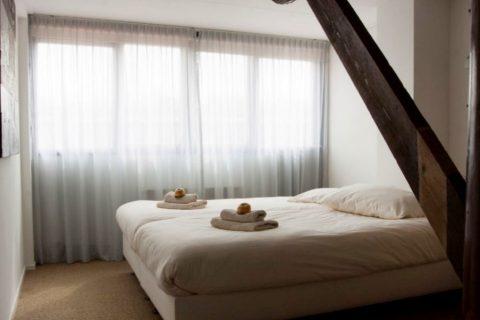 Herberg Het Volle Leven Tweepersoons Slaapkamer Met Sanitair