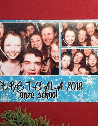 kerstgala school fotobooth