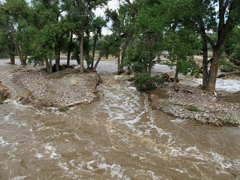 Colorado Flooding Impacts AQHA Breeder's Wild Basin Ranch