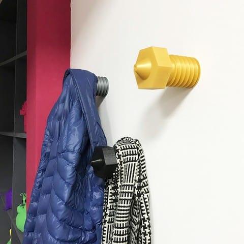 3D Printed Nozzle Coat Hanger