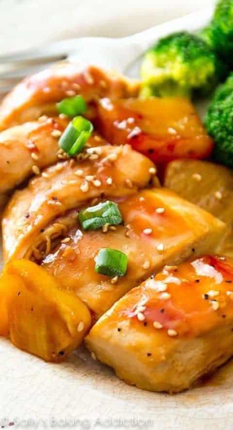 Baked Pineapple Teriyaki Chicken