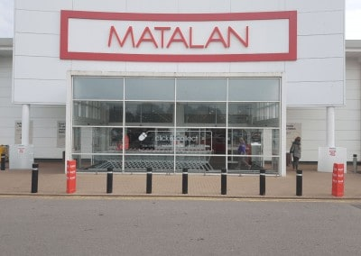Commercial Paining and Decorating Contractors in Cardiff & Bristol - our recent work - Matalan Shopfront