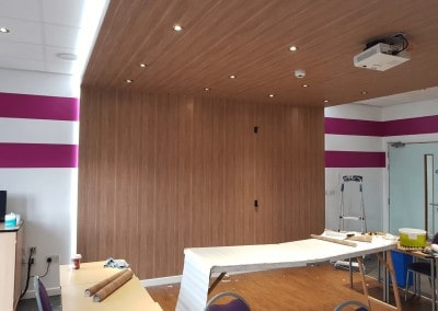 Commercial Paining and Decorating Contractors in Cardiff & Bristol - our recent work - Commercial space decorating South Wales