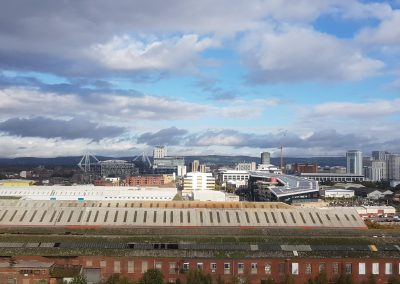 View of Cardiff's Skyline