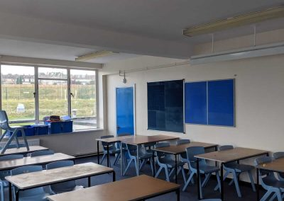Commercial & Residential Paining and Decorating Contractors in Cardiff & Bristol - our recent work - School classroom