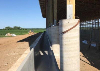 Precast Concrete Feed Bunk-Randy Erickson-Wieser Concrete