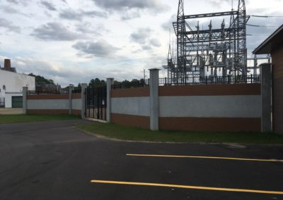 Precast Concrete Decorative Wall Electric Substation-Wieser Concrete