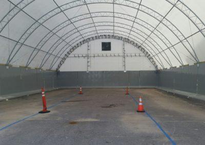 Marquette Highway Dept Hoop Precast Concrete Bunker Inside
