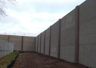 Noise Wall Precast Concrete Portage