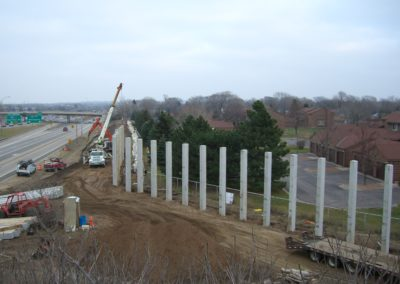 Noise Wall Precast Concrete Posts