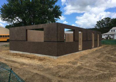 Plum City Concession Stand Precast Concrete Building