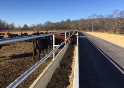 Rooney Farms Precast Concrete Feed Bunk-Wieser Concrete
