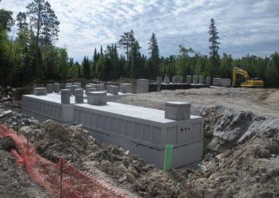 Wastewater Treatment Precast Concrete Tanks Kabetogama MN