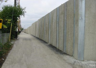 Precast Concrete Noise Wall