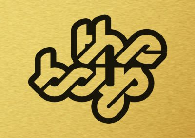 The Boys Logo w Gold Background