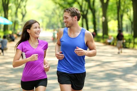 Stress og motion. Løb