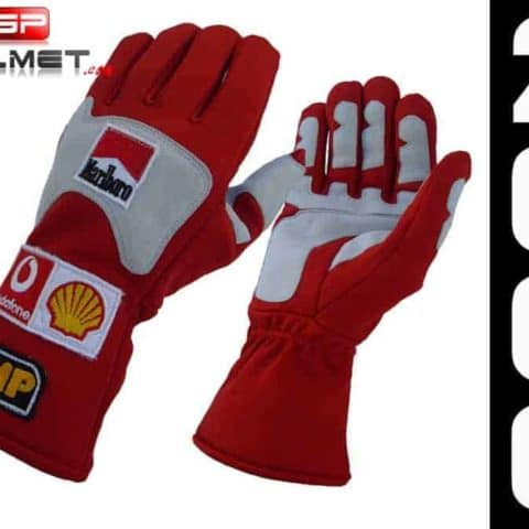 Michael Schumacher 2006 Racing gloves Ferrari F1