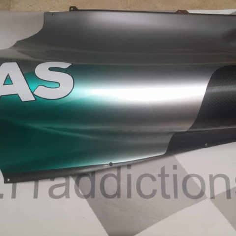 NOW SOLD-Hamilton world championship winning 2014 rear sidepod