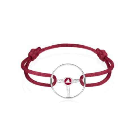 BLOODY HEROES BRACELET ON MAGMA RED CORD