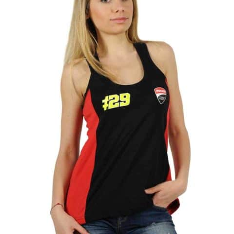 VEST Tank-Top Ducati Corse Iannone ladies MotoGP Team No.29 Moto GP Bike