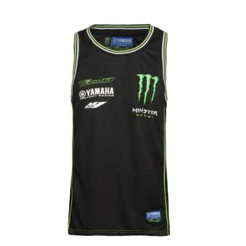 Vest Top Singlet Monster Yamaha Tech 3 Racing Team MotoGP BSB SBK Bike