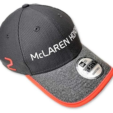 CAP Hat Formula One 1 McLaren Honda F1 NEW Stoffel Vandoorne Team Cap No.2 Grey