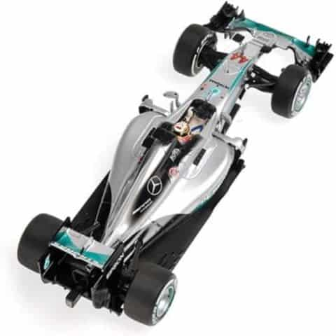 MODEL Car Lewis Hamilton Mercedes AMG W07 Hybrid 2016 Formula One F1 1:43