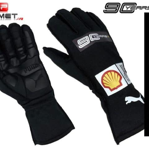 Charles Leclerc 2019 Racing Gloves 90 YEARS / Ferrari Formula 1
