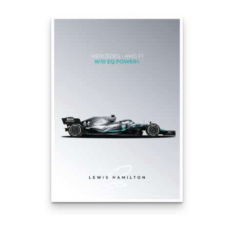 Mercedes-AMG W10 Posters