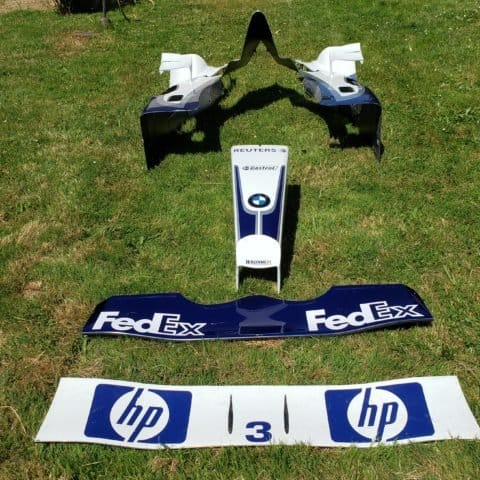 Williams FW25 Montoya large bodywork