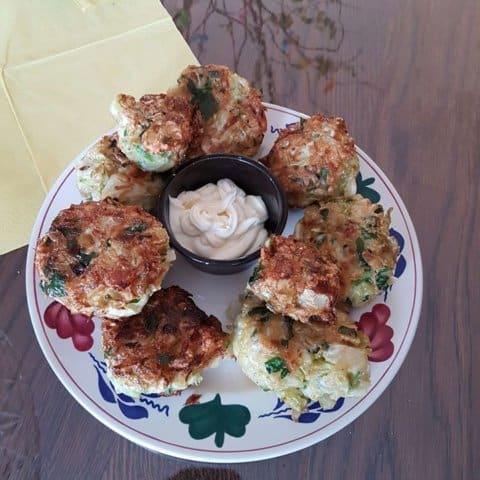 Cabbage patties, spitskool pasteitjes 1