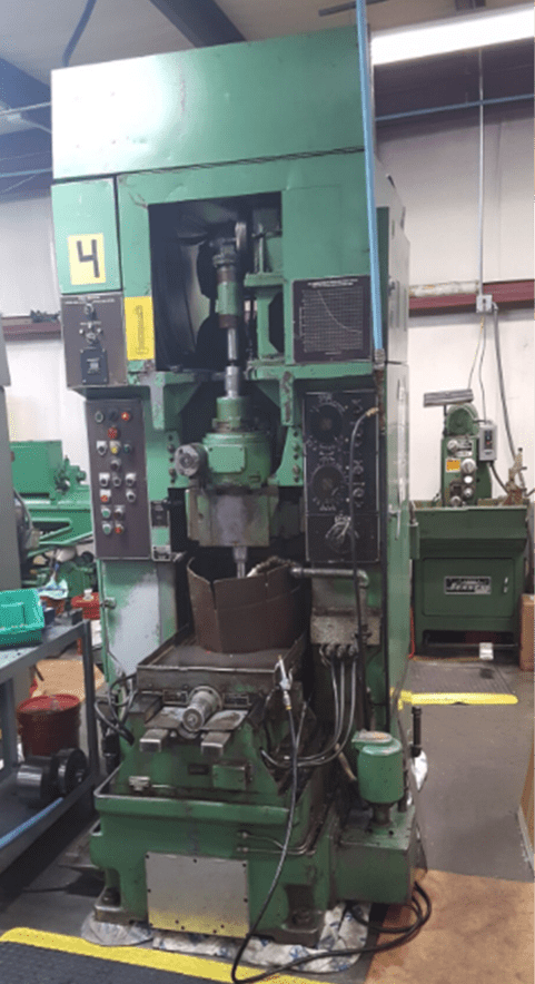 large gear shapers machine inside Integrated Components parts shop
