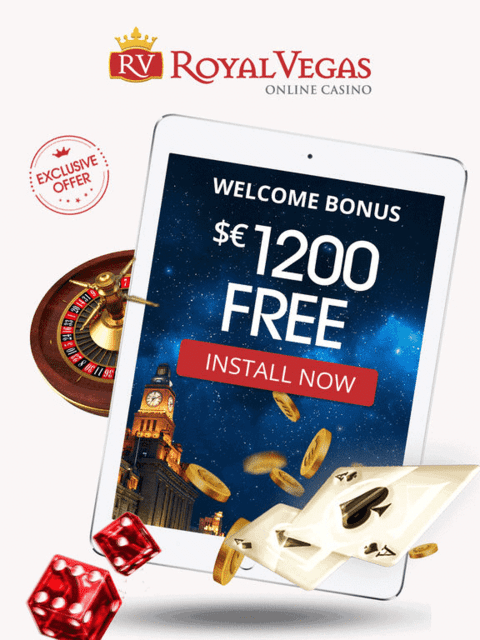 $1200 bonus and 120 free spins up for grabs!