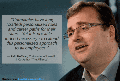 1 to 1 meetings should include career discussions like reid hoffman recommends