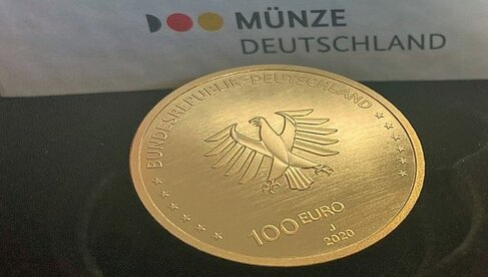 Gold, Goldmünze, Deutschland, 100 Euro (Foto: Goldreporter)