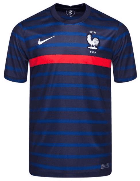 Maillot officiel équipe de France de foot pas cher