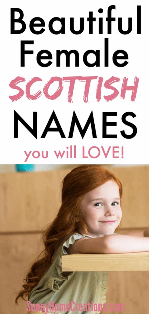 Scottish baby girl names