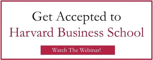 Watch the webinar of 'How to Get Accepted To Harvard Business School' today!