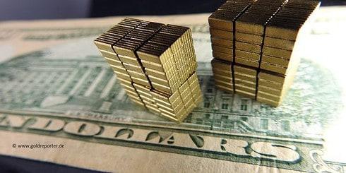 Gold, Goldpreis, US-Dollar (Foto: Goldreporter)