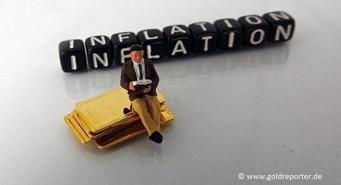 Gold, Inflation (Foto: Goldreporter)