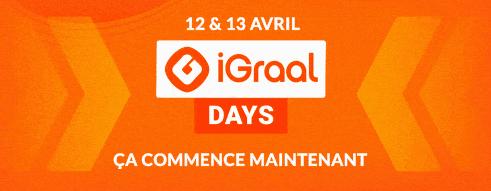 iGraal Days 2021 - Le meilleur CashBack