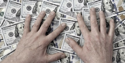 Geld, Gier (Foto: Oleg1824f - Fotolia.com)