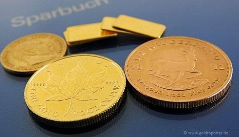 Gold, Goldpreis, Sparbuch (Foto: Goldreporter)