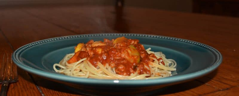 Bolognese-On-A-Plate