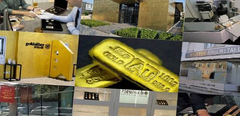 Gold, Edelmetall. Händler (Foto: Goldreporter)