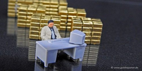Gold, COMEX, Lager (Foto: Goldreporter)