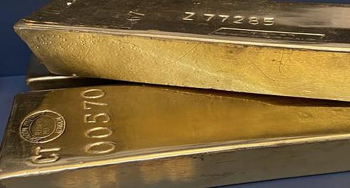 Gold, COMEX, Goldbarren (Foto: Goldreporter)