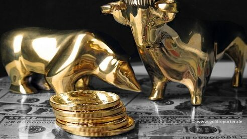 Gold, Goldpreis, Bull, Bär (Foto: Goldreporter)