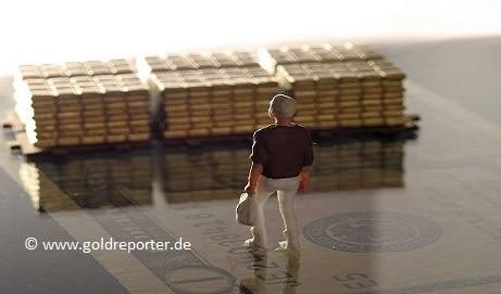Gold, Krise, Deflation (Foto: Goldreporter)